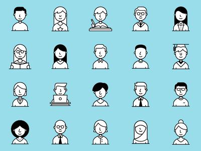 Icon Set – People