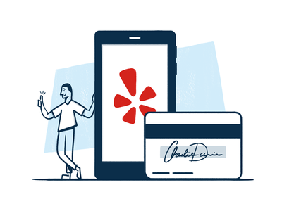 20/52 - Style Exploration product mobile signature character delightful friendly personal handmade yelp illustration dangerdom dominic flask