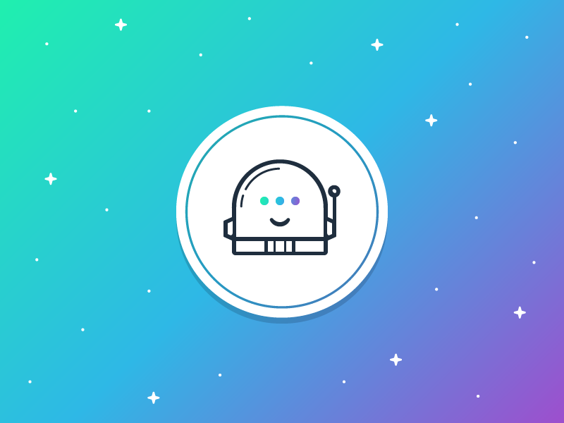 32/52 - A Friend helmet space bot email ai alien vector logo illustration design dominic flask dangerdom
