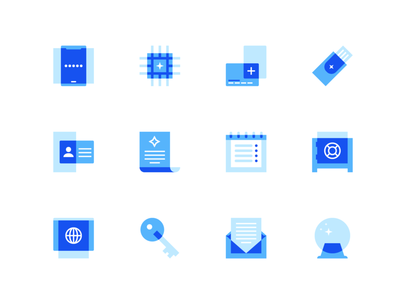 Coinbase Product Icons by Dominic Flask for Coinbase on Dribbble