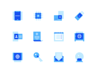 Coinbase Product Icons