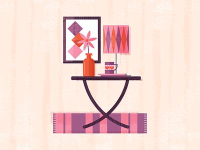 Mid-Century Living – Table v02