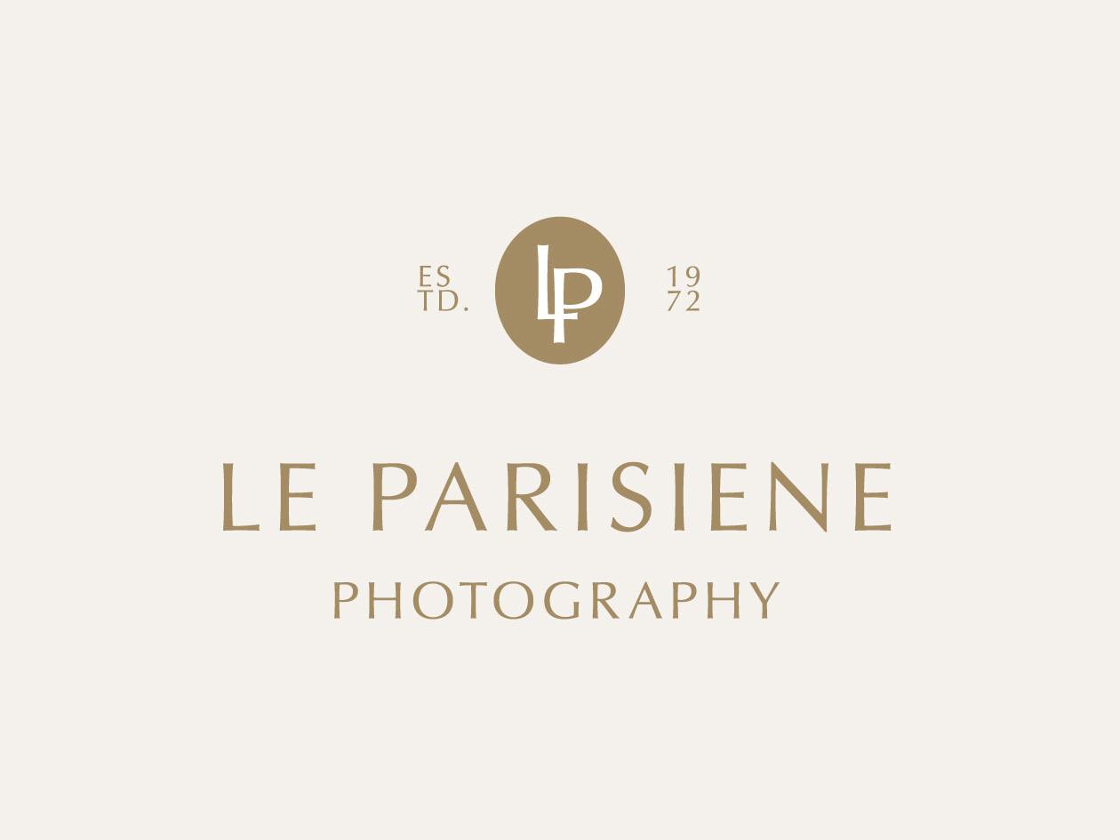Le Parisiene minimal photography branding photography logo dailylogochallange branding logo brand identity