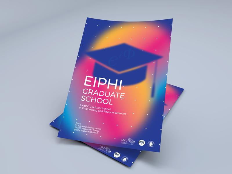 Graduate School – Flyer graduate school graphism flyer
