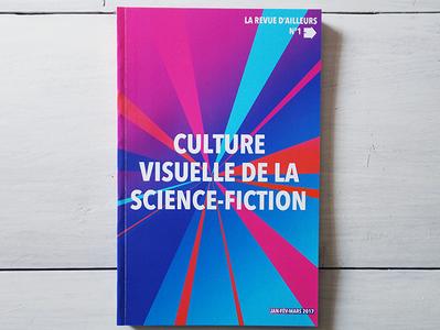 La Revue d'Ailleurs design book cover book art édition publishing book