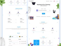 Laundry Drycleaning Website Templates
