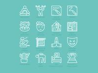 Coping Skills Icons