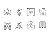 Creative learning icons
