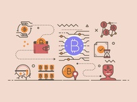 Cryptocurrency Illustration