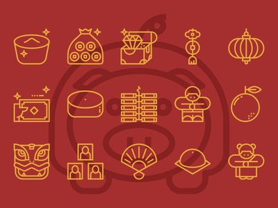 Free Chinese New Year Icons