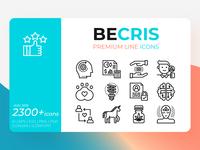 Becris Premium Line Icons