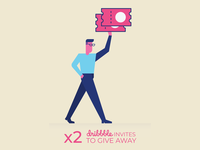 x2 Dribbble invitations to give away