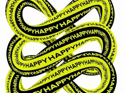 Twisty type poster design motion design typogaphy gif loop glass fluid illustration design cinema 4d cgi c4d 3d