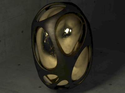 My egg spins color photoshop fluid adobe illustration design cinema 4d cgi c4d 3d