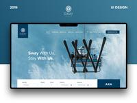 Sway Hotel UI Design