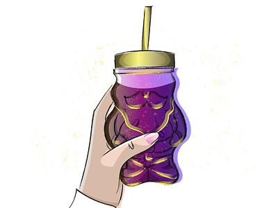 Mug gif illustration