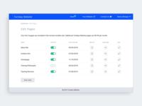 Dashboard CMS Page Editor