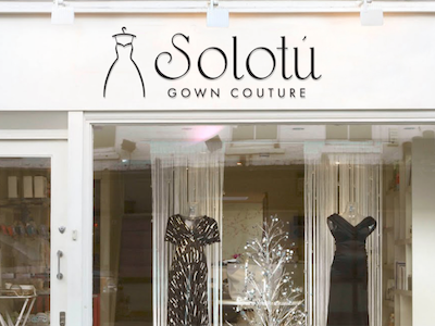 Solotu Gown Couture Logo Design