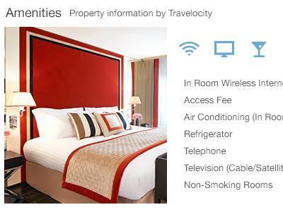Hotels adaptive coloring transparent flat design