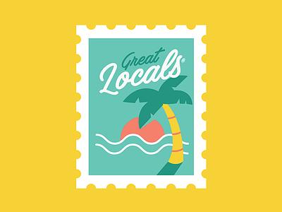 Great Locals caribbean great locals logo brand