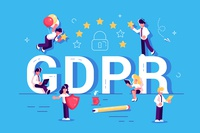 GDPR concept. Data protection