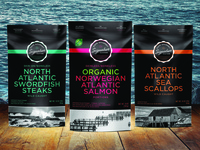 Cape Gourmet Signature Seafood Packaging