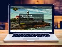 Cape Gourmet Signature Seafood Website