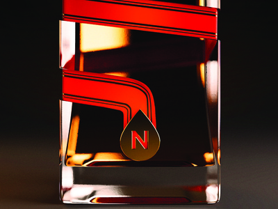 Northink Design Co. Candy Cane Whisky