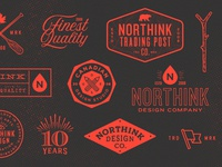 Northink 10 Year Anniversary Various Icons
