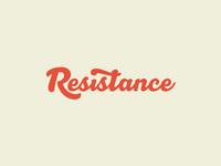 Resistance Logotype