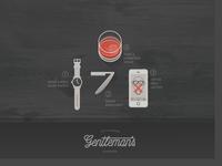 Gentleman's Poster