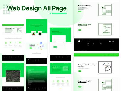 Company Profile Web Minimalist web design branding webdevelopment webdesign adobexd design mobilewebdesign personal web landing page adobe xd
