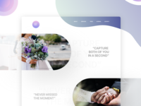 Landing Page Wedding Photography
