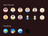 Flatflow icons v002