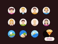 Flatflow Icons Free Sketch3 Resource
