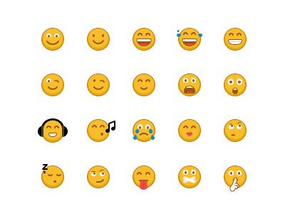 Emoji Set chat emotions 32x32 icons iconfinder smile emoji emoticons