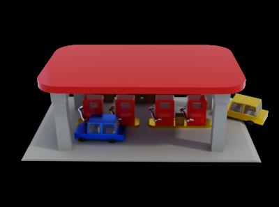 Editorial - 3D Illustration #9 lowpoly game art editorial design 3d art render 3d blender low poly illustration