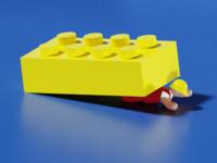 Low Poly Blocs - 3D Illustration #2