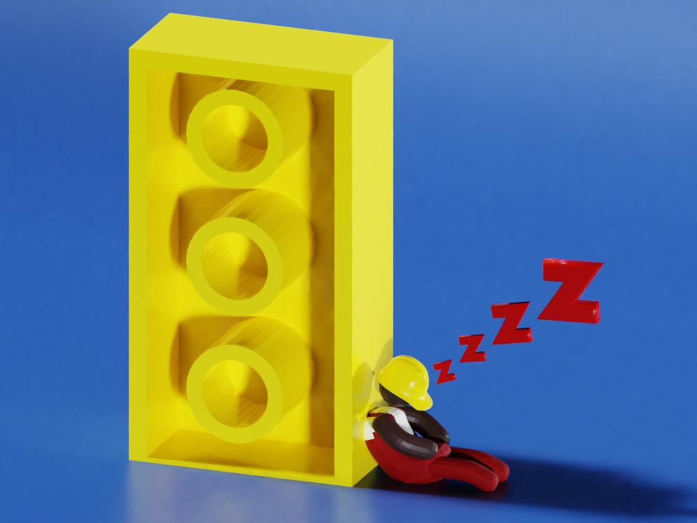 Low Poly Blocs - 3D Illustration #4 book kids children magazine lowpoly isometric game art web editorial 3d art design render 3d blender low poly illustration