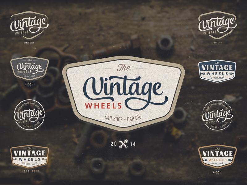Garage Shop Logo