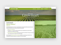 Growmart website - WIP