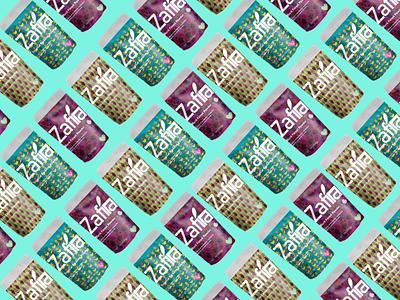 Zafira Vegan & Organic streaming logos clean design clean ui brand branding logo ux ui organic adobe illustrator dribbble behance adobe photoshop graphicdesign design