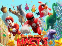 Macy's Thanksgiving Parade Poster 2015
