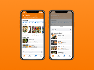 Food delivery app food and drink search bar order delivery food delivery app food food delivery food app