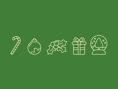 Christmas icons illustration vector icons christmas