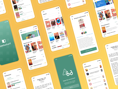 Bookshelf - Reading App books app books reader book app reading list reading app reading