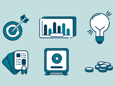 Blue Startup Icons