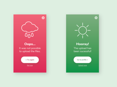 Flash Message | Daily UI #011