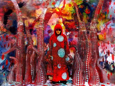Kusama Yayoi artiste visuelle japonaise