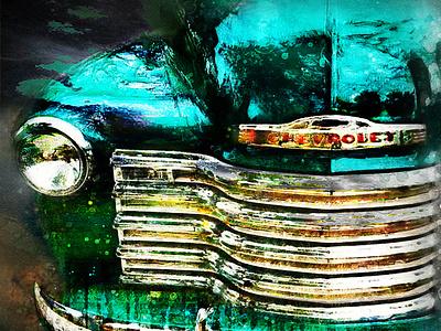 Devant de vieille Chevrolet